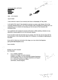 risk assessor appointment letter template mini digests of confidential documents published by unileaks suspend him as a student and exclude him from campus