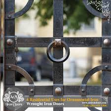 am iron doors 4 residential uses for ornamental iron