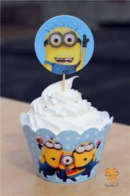 minion baby shower decorations buy despicable me minions cupcake wrappers decoration birthday