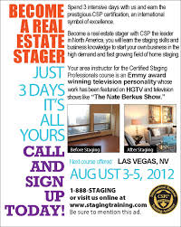 home staging course featured on cbs tv celebrity interior