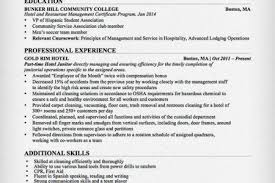 Janitorial Resume Sample by Maintenance Worker Resume Objective Reentrycorps