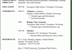First Resume Samples by Download Secretary Objective For Resume Examples
