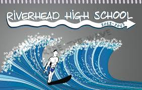 high school agenda riverhead high school agenda book cover on behance