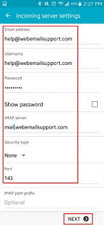 setting up email on android how do i set up email on my android device web support