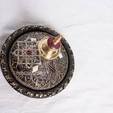 Decorative Bowls Home Decor Moroccan Decorative Tureen Hand Stamped Metal Home Decor Tagine