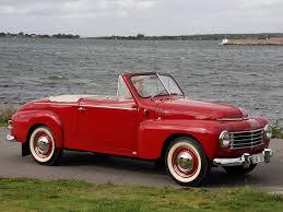 1950 Volvo Pv444 445 Cabriolet Convertible Volvo Pinterest
