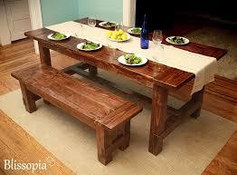 Antique Farm Tables Custom Farmhouse Dining Table By Blissopia Custommade Com