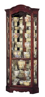 wayfair corner curio cabinet amazon com howard miller 680 249 jamestown curio cabinet kitchen