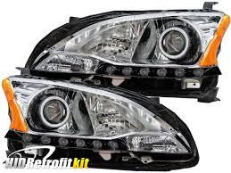 2013 2015 nissan sentra sedan custom bi xenon hid retrofit