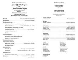 catholic mass wedding program template sle catholic wedding program tbrb info