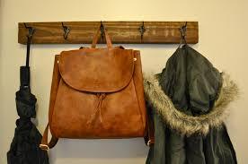 wall mounted coat rack salty tales diy wall mount coat rack