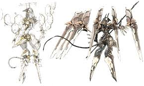 art zone design anubis concept characters art zone of the enders the 2nd runner
