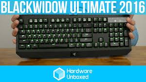 razer black friday razer blackwidow ultimate 2016 review youtube