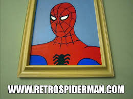60 Spiderman Memes - 60s spiderman meme office painting