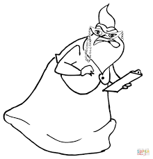 roz coloring free printable coloring pages