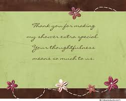 thank you notes for baby shower stitched flowers baby shower thank you cards