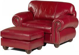 Oversized Chair With Ottoman Modern Living Room Remodel With Red Wrap Around Couch And Leather