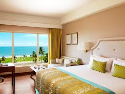 Hotel Bedroom Designs by Lavishly Appointed Luxury Rooms In Colombo At Taj Samudra