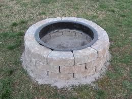 Custom Backyards Garden Designing Fire Pit Lowes Ideas In Back Yard Simple Diy