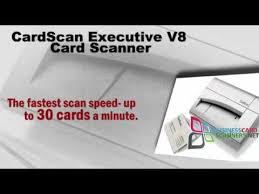 Cardscan Personal Business Card Scanner V9 Advice On The Cardscan Executive V8 Card Scanner General Reviews