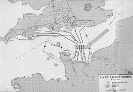 Route 40 Map by Utah Beach To Cherbourg