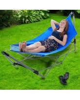 amazing deal on mac sports portable fold up hammock with removable