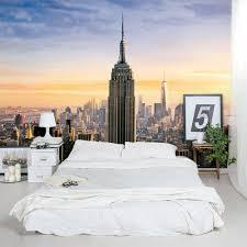 new york skyline window wallpaper mural wall murals you ll love new york cityscape wall mural murals you ll love