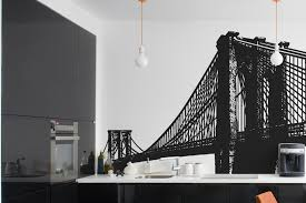 vinyl wall decal sticker brooklyn bridge new york nyc 149