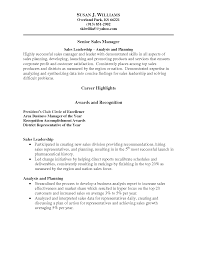Sample District Manager Resume Area Sales Manager Cover Letter Sales Manager Example Free
