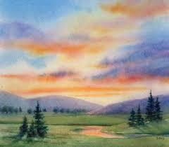 easy scenery paintings