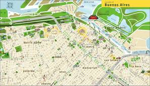 Buenos Aires Subway Map by Buenos Aires Map