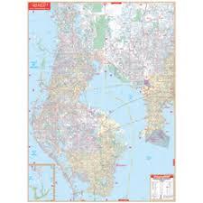 florida topo map pinellas county florida wall map page free maps globe globes