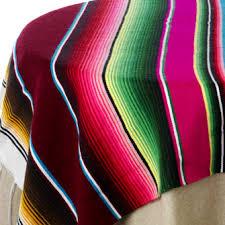 Serape Table Runner Mexican Serape Print Table Linen Rentals