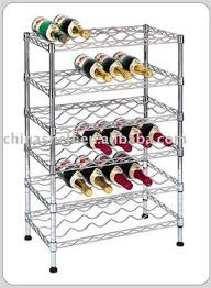 chrome wire wine rack buy wine rack wine shelving wine shelf