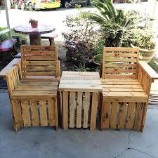 Pallets Patio Furniture Some Pallet Diy Ideas For Winter Vacations Pallet Ideas