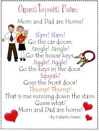 onomatopoeia poem poetry fig language pinterest poem