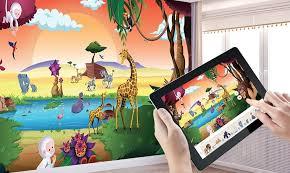 tapisserie chambre d enfant papier peint personnalisé pour chambre d enfant clikétoile
