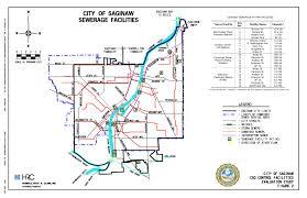 Saginaw Michigan Map by City Of Saginaw Mi Wet Weather Treatment