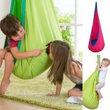 1 piece baby swing children pod hammock indoor outdoor hanging