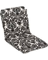 exclusive black outdoor chair cushions deals