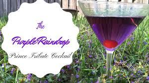 martini purple the prince purple raindrop cocktail tribute youtube