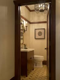 amazing powder room vanity with undermount sink wood wall trim