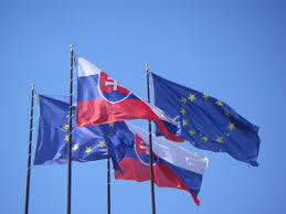 Flag Of The European Union File Eu And Slovakia Flags Jpg Wikimedia Commons