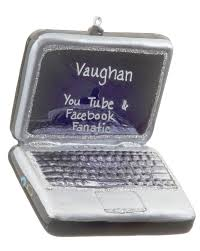 laptop computer personalized ornament