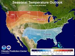 Oklahoma Weather Map Noaa U0027s Winter Weather Forecast 2016 Strong El Nino Unofficial