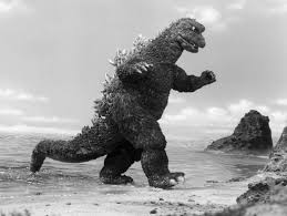 science ethics rubber suit godzilla dissolve