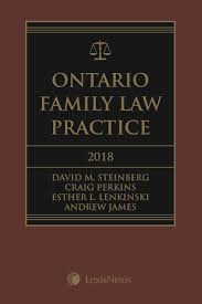 ontario family law practice 2018 edition cd lexisnexis canada