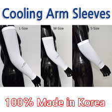 Cool Arm Sleeves - qoo10 cool arm sleeves small medium large size uv