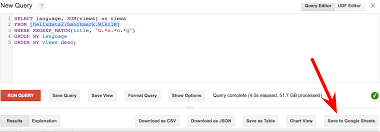 How To Use Google Spreadsheet As Database Bigquery Integrates With Google Drive Google Cloud Big Data And
