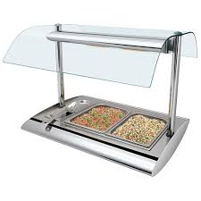 steam table with sneeze guard buy hatco srbw 1 serv rite portable buffet warmer w sneeze guard at